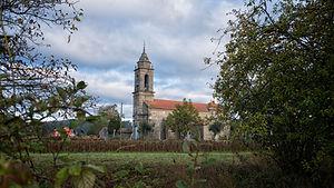 Iglesia de San Miguel de Cabreira parroquia de Salvaterra de Miño (Pontevedra) Galicia. Photoperiplo, viajar y fotografiar estuvo allí, nos acompañas.