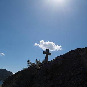 Un paseo muy agradable supone este Vía Crucis desde el Convento de San Francisco en Louro, Muros (A Coruña)