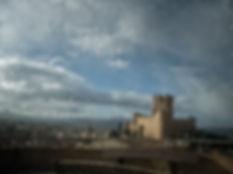 Castillo de la Atalaya de Villena (Alicante) España, Photoperiplo estuvo allí fotografiando este amanecer. Si te gusta viajar para fotografiar, ya sabes hazlo con Photoperiplo