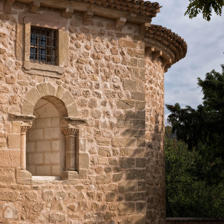 Detalles claramente románicos