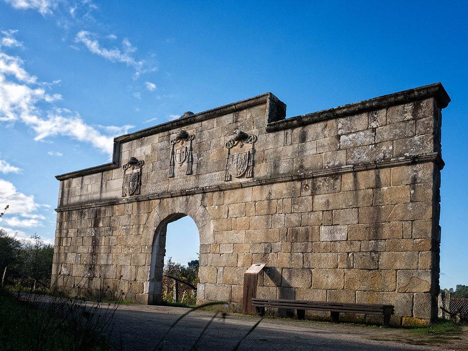 Puerta de la Inquisición en Corzáns (Salvaterra de Miño, Pontevedra)