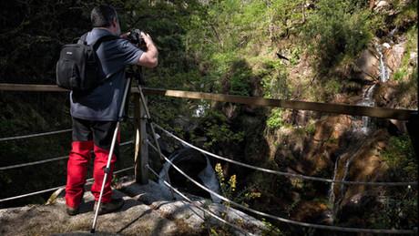 Desde el puente, ineludible hacer unas cuantas fotos a diestro y siniestro...