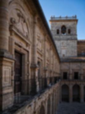 Merece la pena asomarse a cualquiera de los balcones del claustro superior del Monasterio de Uclés (Cuenca), Photoperiplo lo hizo.