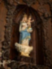 Virgen de la Piedad de Urbanos en Torrejoncillo del Rey (Cuenca)