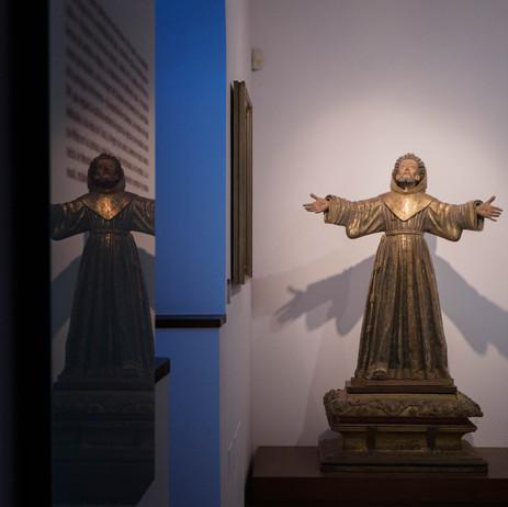 Una de las tantas imágenes que podremos contemplar en el Museo Catedralicio de la catedral de Mondoñedo (Lugo) Galicia Spain