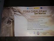 Cartel anunciador de la Feria de San Marcos en Noia (A Coruña), es un referente en cuanto a feria caballar se refiere...