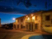 Ayuntamiento de Olmedilla de Alarcón y la hora azul...