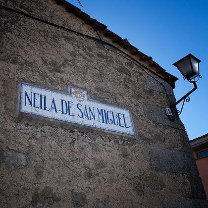 Neila de San Miguel en la comarca de Alto Tormes (Ávila)