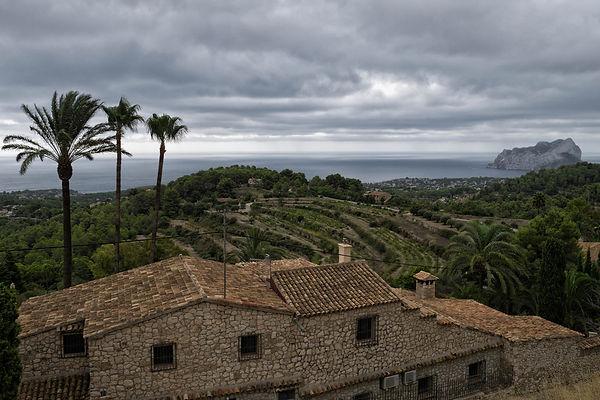 Desde Benissa, en dirección a su costa las vistas son espectaculares. Photoperiplo aprovechó...