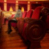 Interior del Teatro Chapí en Villena, una joyita de teatro...