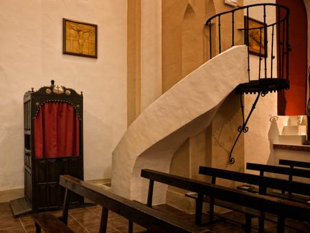 Algunos detalles del interior de la iglesia...