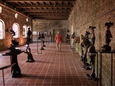 Vista de la exposición permanente de Florencio de Arboiro...