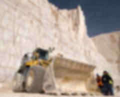 Cantera de mármol en Pinoso, en Monte Coto, explotada por Marcotsa