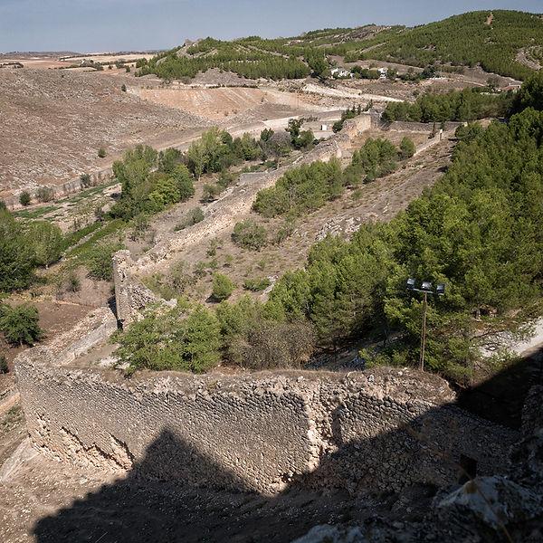 Restos de las antiguas murallas de orígen romano, musulmán y cristiano. Photoperiplo estuvo haciendo unas fotografías allí en Uclés, Cuenca.