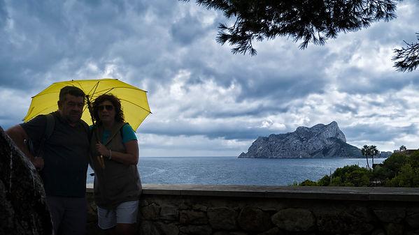 Fotografía hecha por Photoperiplo desde el paseo ecológico que une las distintas y encantadoras calas de Benissa en la Marina Alta (Alicante) España