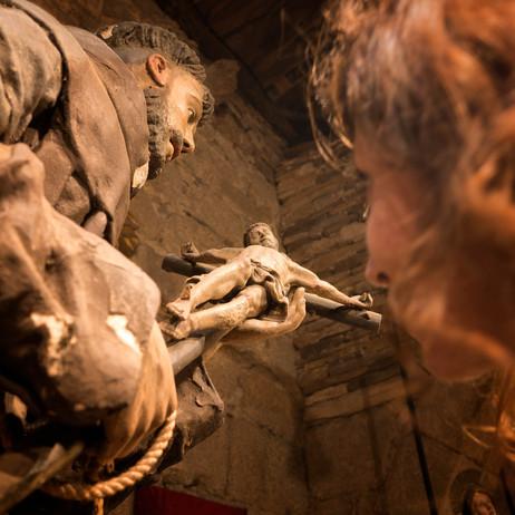 Una de las tantas imágenes que podremos admirar en el Museo Catedralicio de la catedral de Mondoñedo (Lugo) Galicia Spain