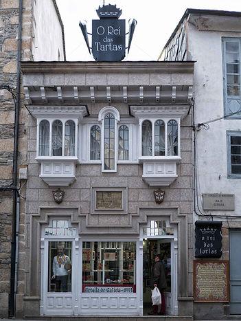 Una de las confiterías más famosas de Galicia, O Rei das Tartas en Mondoñedo (Lugo)