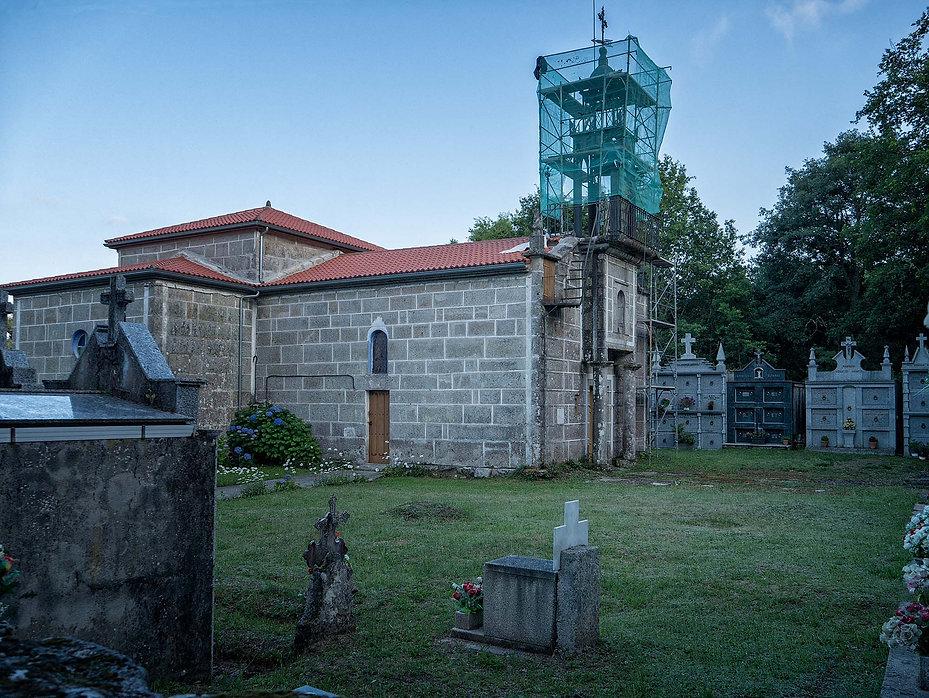 Iglesia de la parroquia de Caxide en Parada de Sil (Orense, Galicia, España) Photoperiplo estuvo allí fotografiando.