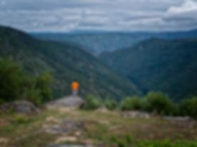 Mirador da Lampa en Nogueira de Ramuín - Luintra (Ourense, Galicia, Spain) en plena Ribeira Sacra, Photoperiplo estuvo allí porque nos encanta viajar para fotografiar.