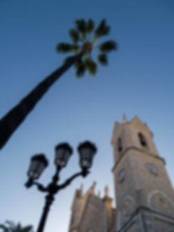 Iglesia de la Purísima Xiqueta en Benissa, Catedral de la Marina Alta (Alicante) España. Fotografía de Photoperiplo que viaja para fotografiar.