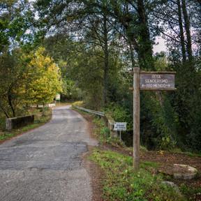 Ruta de senderismo del río Mendo...