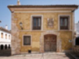 Casa palacio blasonada en Torrejoncillo del Rey (Cuenca) fotografiada por Photoperiplo
