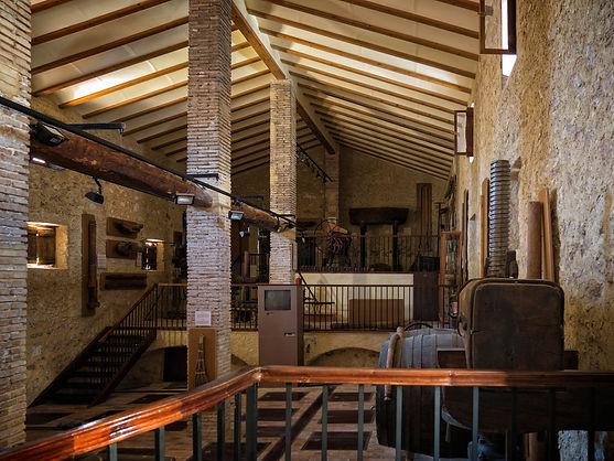 Vista interior del Museu Històric- Etnològic en la Calle Molí, 55 de La Font de la Figuera (Valencia)