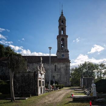 Iglesia parroquial de San Salvador en Leirado (Salvaterra de Miño)