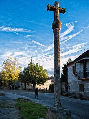 Cruceiro de Pesqueiras en Salvaterra de Miño (Pontevedra) Galicia. Photoperiplo, viajar y fotografiar estuvo allí, nos acompañas.