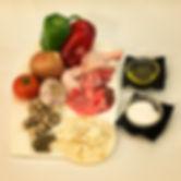 Ingredientes para unos gazpachos manchegos de chuparse los dedos
