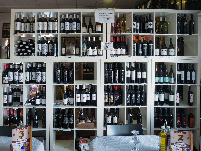Los vinos que se ofrecen ...