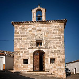 Ermita de la Virgen de los Remedios patrona de Horcajada de la Torre (Cuenca).