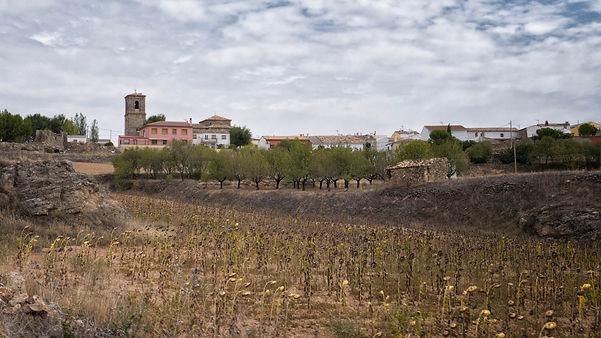 Vista general de Vilar del Horno en Cuenca.