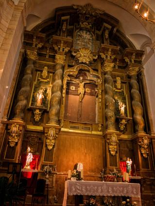Retablo de la iglesia de San Pedro Apóstol en Horcajada de la Torre