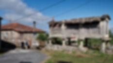 Liñares en Nogueira de Ramuín es una pequeña aldea que aún conserva su estructura de tiempos atrás.