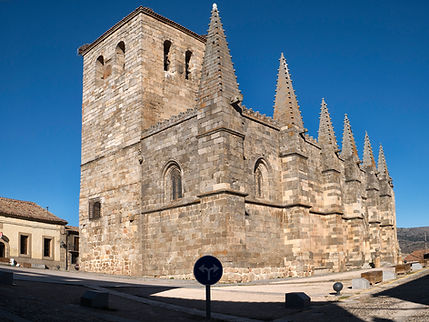 Iglesia Colegiata de San Martín de Tours en Bonilla de La Sierra (Ávila) Villa Episcopal