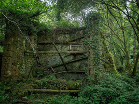 Ruinas del molino de Batán
