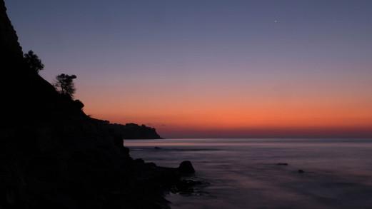 Cala Advocat antes de la salida del sol...