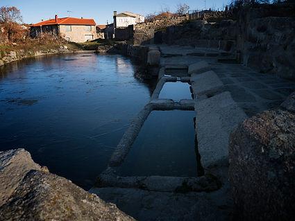 Antiguo lavadero en Neila de San Miguel (Ávila)