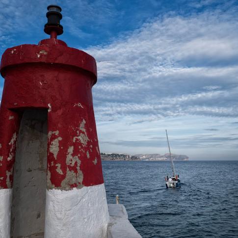 En Les Bassetes se encuentra el pequeño Puerto Deportivo de Benissa