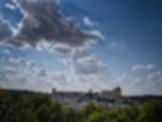 Vista general del Monasterio, Castillo y Villa de Uclés (Cuenca) Photoperiplo estuvo allí haciendo unas fotos. Viajar par fotografiar, nos acompañas?