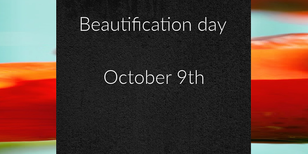Beautification day