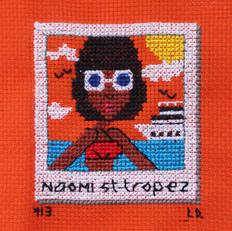 Naomi au Saint Tropez