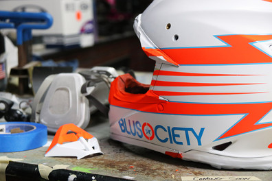 BLU Society helmet design