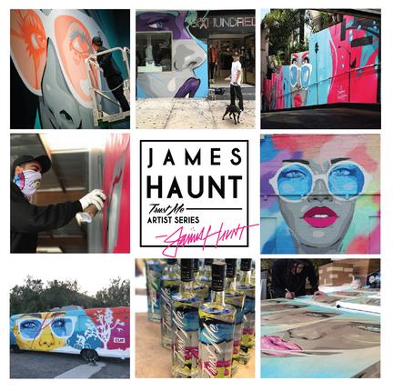 James Haunt x Trust Me Vodka