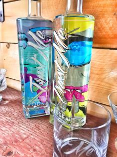 James Haunt Artist Series bottles