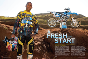 Fresh ReBrand & Gear Design for MX Champ James Stewart. Circa 2009