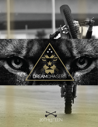 Dream Chasers logo and Lookbook for Meek Mill