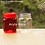 Thumbnail: Toples plastik PET 200ml selai kotak tutup merah