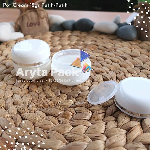 Pot cream 15 gram putih-putih